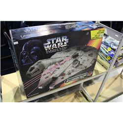 STAR WARS POWER OF THE FORCE ELECTRONIC MILLENNIUM FALCON MODEL