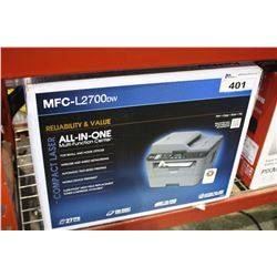 BROTHER MFC-L2700DW COMPACT LASER MULTI-FUNCTION PRINTER
