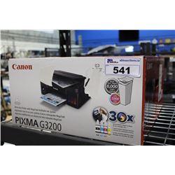 CANON PIXIMA G3200 PRINTER
