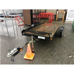 2013 KARAVAN UTILITY TRAILER (SNOWMOBILE) BLACK, VIN#5KTSS1518DF633501, NO ICBC DECLARATIONS