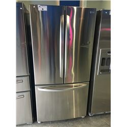 LG STAINLESS STEEL FRENCH DOOR FRIDGE WITH BOTTOM FREEZER