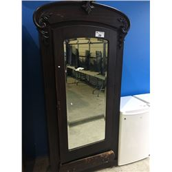 ANTIQUE CANADIANA MIRROR FRONT SIDE BOARD