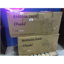 NEW IN BOX OSAKI MODEL OS PRO 3D CYBER 2.0 MASSAGE CHAIR