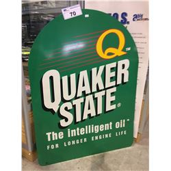 QUAKER STATE OIL SIGN