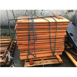 PALLET LOT OF WOOD PLANKS