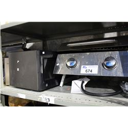 MICROWAVE AND CAMPING BBQ
