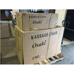 NEW IN BOX OSAKI MODEL OS 4000 MASSAGE CHAIR - DARK BROWN