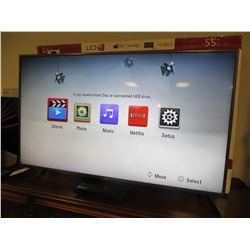 "LG 55"" LED TV MODEL LF6000 (FLOOR MODEL) WITH REMOTE"