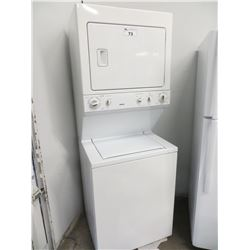 """KENMORE WASHER/DRYER UNIT (75.5""""H X 27.25""""W X 24.25""""D)"""