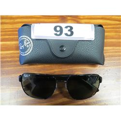 AUTHENTIC PAIR OF RAY BANS & CASE