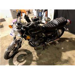 1982 SUZUKI GSH50, MOTORCYCLE, BLACK, VIN # JS1GL51K0C2100153