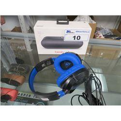 DRE BEATS PILL BLUETOOTH SPEAKER & TURTLE BEACH USB HEADSET