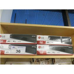 4 - LG DVD PLAYERS MODEL DP132