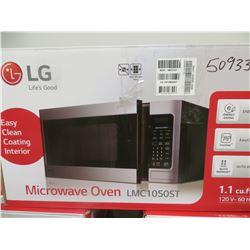 LG 1.1 CU FT MICROWAVE OVEN MODEL LMC0150ST