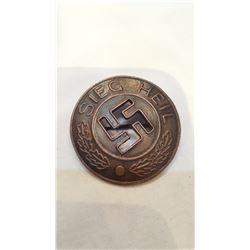 1933 Nazi Sieg Heil Victory Pin