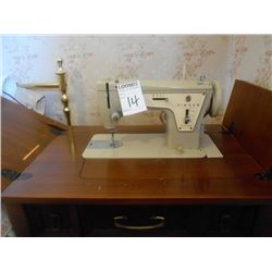 Singer 237 Sewing Machine, Button Boxes