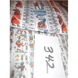 Egyptian Motif Fabric Material