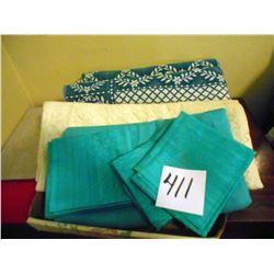 Asstd. Table Cloths and Napkins