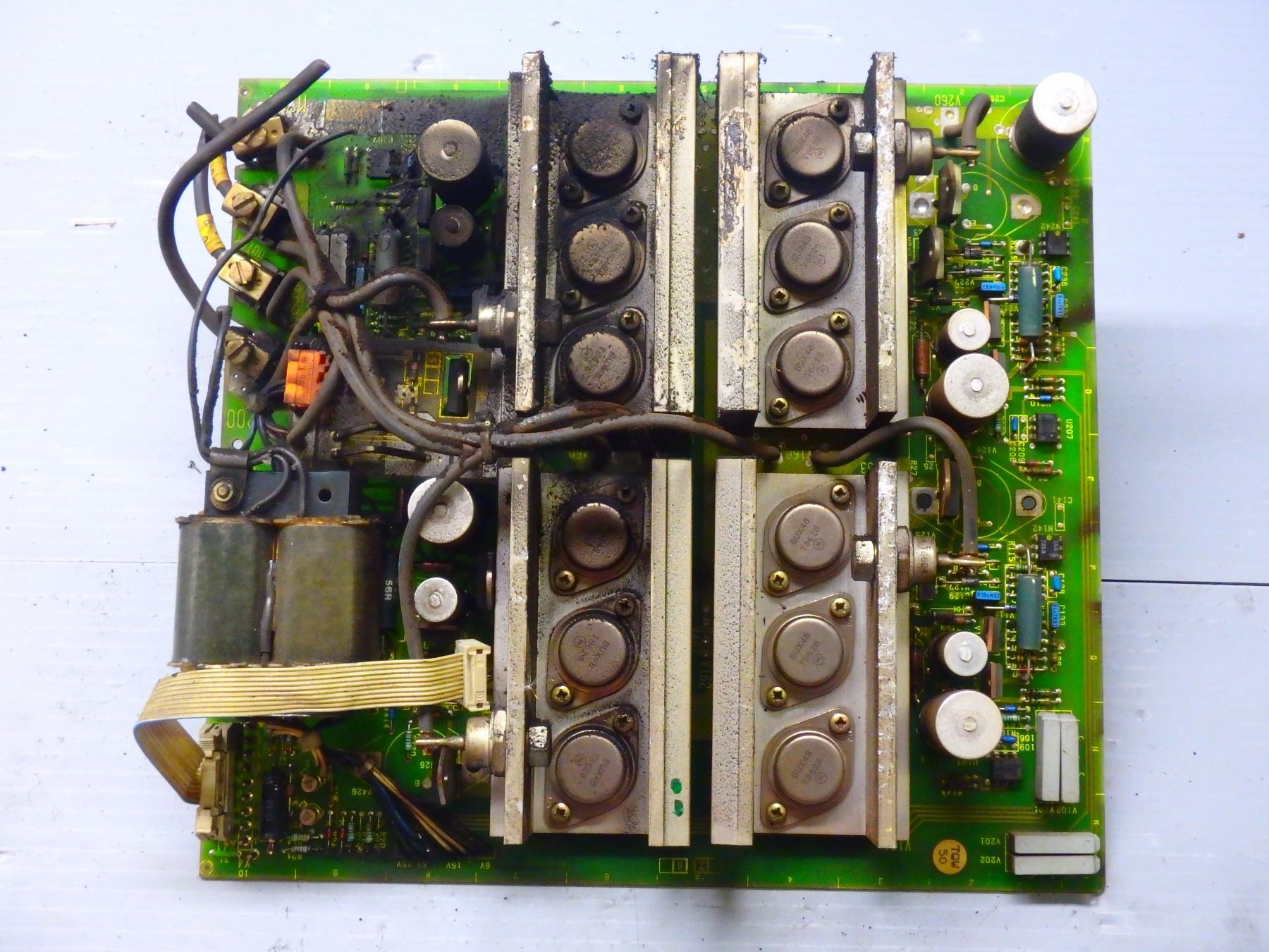 SIE 6RB2025-0FA01 CIRCUIT BOARD- *** TAG HARD TO READ!! on