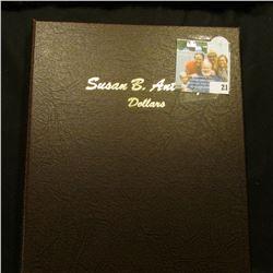SUSAN B ANTHONY DANSCO COIN ALBUM NUMBER 8180
