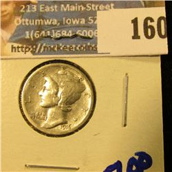 1916 MERCURY DIME FIRST YEAR COIN