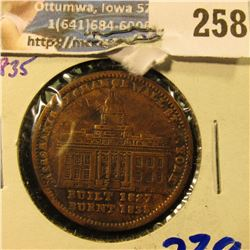 1835 HARD TIMES TOKEN . … THESE WERE PRODUCED DURING A TIME OF CONSIDERABLE CHAOTIC AND POLITICAL TU