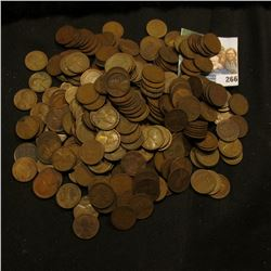 322 WHEAT PENNIES FROM THE 1920'S WITH MINT MARKS