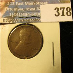 1909 P VDB U.S. Wheat Cent, EF.