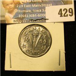 1944 Canada Nickel, Unc.