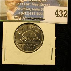 1960 Canada Nickel, Unc.