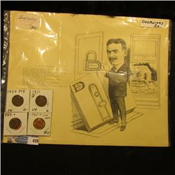 "Circa 1910 Des Moines Co., Iowa 9"" x 11"" Advertising card ""Drake Hardware Co. Kut-Well…Burlington, I"