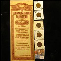 July 1, 1926 United States of America Commander-Larabee Corporation $500 Ten-Year Secured Sinking Fu