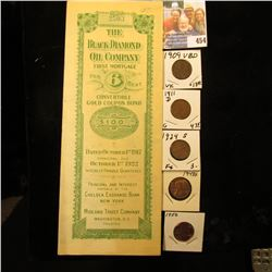 October 1st, 1917  The Black Diamond Oil Company First Mortgage 6 Per Cent Convertible Gold Coupon B