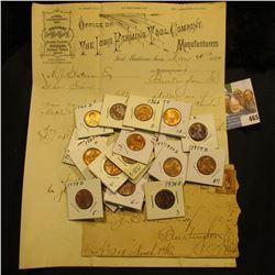 "May 26, 1884 ""Office of The Iowa Farming Tool Company Manufacturers Fort Madison, Iowa Works Establi"