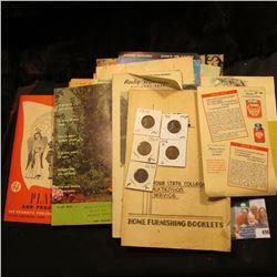 "1937 Fall Catalog ""Complete Instruction Wonder Art Presents Needlework Fashions""; (2) 1888 ""Common S"