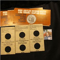 "A Group of original advertising brochures for ""The Great Silver Sale Carson City Silver Dollars Coll"