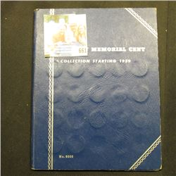 1959-93 Partial Set of Lincoln Cents in a blue Whitman folder. Several BU.