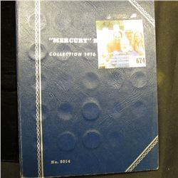 1917-45 Partial Set of Mercury Dimes in a Whitman folder. (31 pcs.).