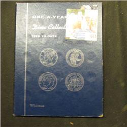 1965-92 Set of Roosevelt Dimes in a blue Whitman Folder. (28 pcs.).