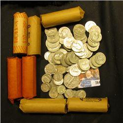 (1) Buffalo & (2) Jefferson Nickels; (1) Clad Dime; (25) .900 fine Silver Dimes; $70 face value Clad