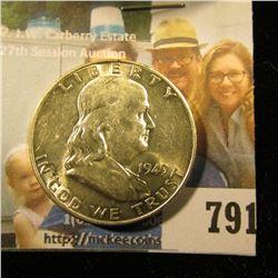 1949 D Franklin Half Dollar, Brilliant Uncirculated