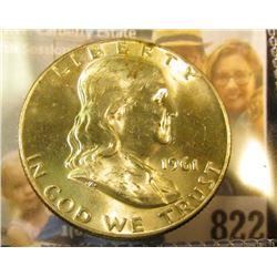 1961 D Franklin Half Dollar, Brilliant Uncirculated.