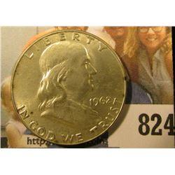 1962 D Franklin Half Dollar, Brilliant Uncirculated.