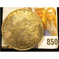 1889 P U.S. Morgan Dollar, Full toned Original Uncirculated.