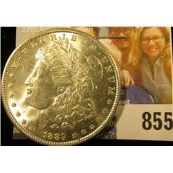 1889 P U.S. Morgan Dollar, Brilliant Uncirculated.