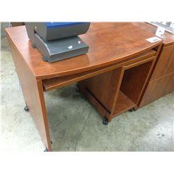 CHERRY 3' MOBILE COMPUTER DESK