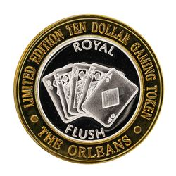 .999 Silver The Orleans Hotel & Casino Las Vegas, NV $10 Limited Edition Gaming