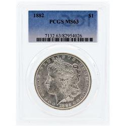 1882 PCGS MS63 Morgan Silver Dollar