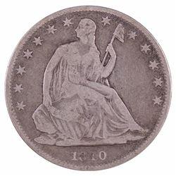 1840-O Seated Liberty Half Dollar Coin
