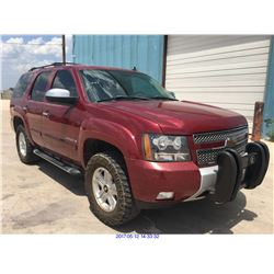 2007 - CHEVROLET TAHOE// TX REGISTRATION ONLY